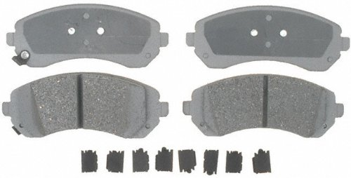 ACDelco 14D844CH Advantage Ceramic Front Disc Brake Pad Set with Hardware