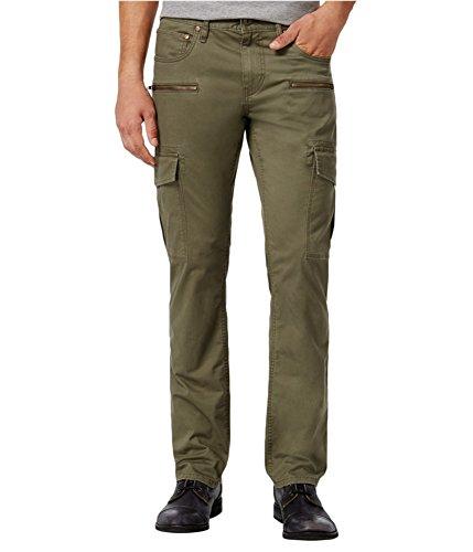 INC International Concepts Men's Esteban Berlin Slim-Straight Cargo Pants (36, Tank) by INC International Concepts (Image #1)