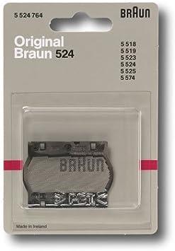 Lamina Para Afeitadora Eléctrica BRAUN 524: Amazon.es: Salud y cuidado personal