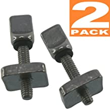 air7 Stainless Steel 316 fin screw [ 2 pack] for Longboard Surfboard , Stand Up Paddle (SUP) and airSUP - most US box fin boxes