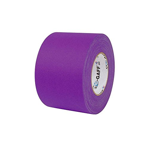 4 in. x 55 yds. Purple Gaffer Industrial Vinyl Cloth Tape (3-Pack) by Pratt Retail Specialties