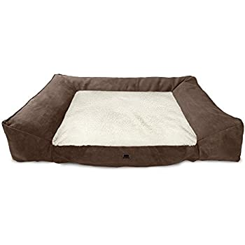 American Kennel Club Memory Foam Sofa Pet Bed X Large Tan