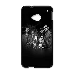HTC One M7 Cell Phone Case Black hd42 coldplay music dark band celebrity Eplrx