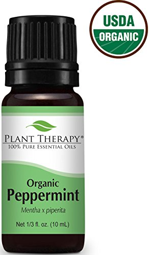 Organic Peppermint Essential Oil. 10 ml. 100% Pure
