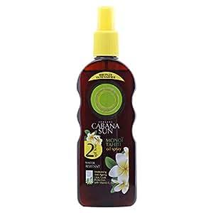 Cabana Sun Oil Spray SPF 2, 200ml