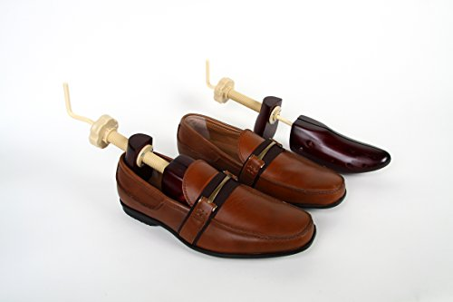 SWE Men's 2-Way Wooden Shoe Stretchers for Sizes 9 to 14 by SWE (Image #1)