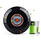 Robotic Vacuum Cleaner, with Mop and Water Tank High Suction, Super Thin, Extremely Quiet, Upgraded Auto Charging/Strong Suction/Infrared Sensor/Drop Sensing Sweeping Mopping (Black)