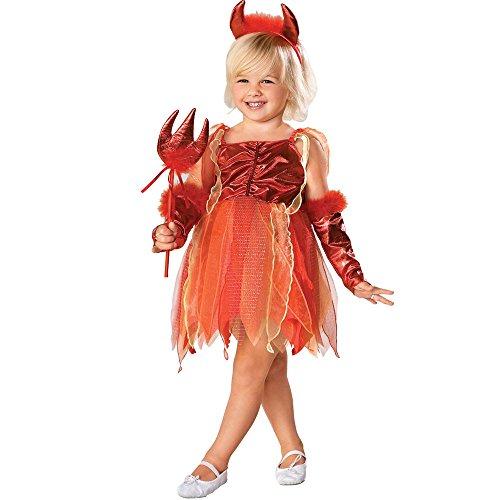 [Cute Lil' Devil Costume: Girl's Size 8-10] (Cute Devil Costumes Girls)