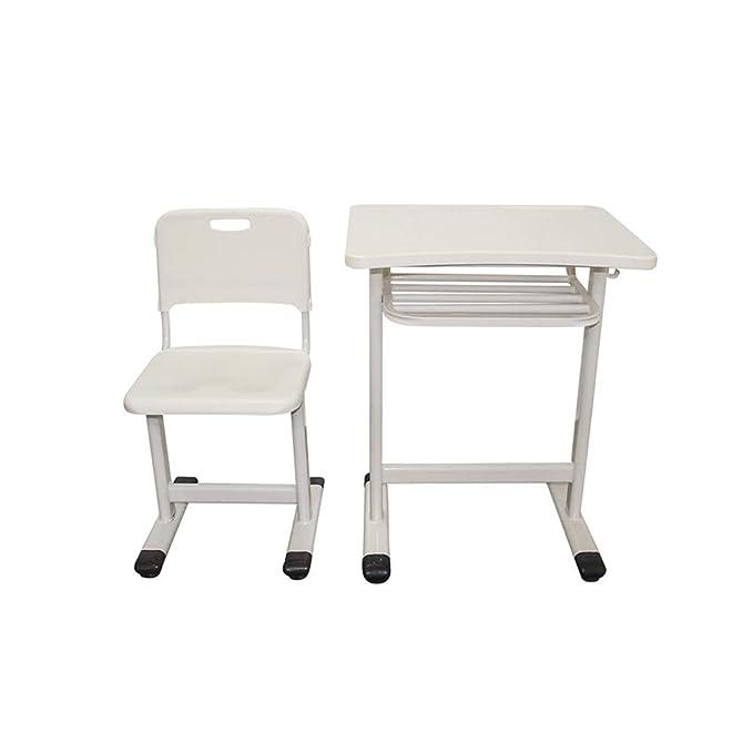 YNN Table Escritorio Silla Individual Traje Escuela Aula Mesa de ...