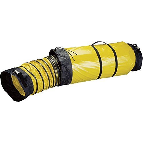 Schaefer Quick-Connect Duct with Carry Bag - 8in. x 25-Ft.L, Model# AM-DS0825CB by Schaefer