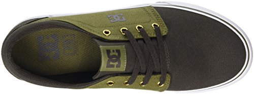 DC Shoes Trase TX - Zapatillas para hombre Marrón (Military / Dk Choc)