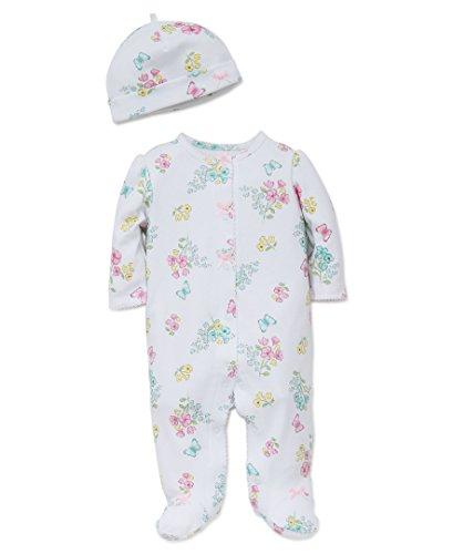 ' Newborn Footie, Meadow Floral, 9 Months ()