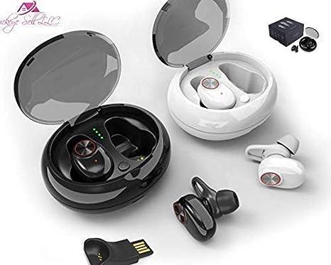 BUCKEYE 2019 Mini Invisible Wireless Earbuds with Charging case, Earphone,  buckeye Sport Earbuds,Bluetooth Headset, Earphone Headphone for iPhone
