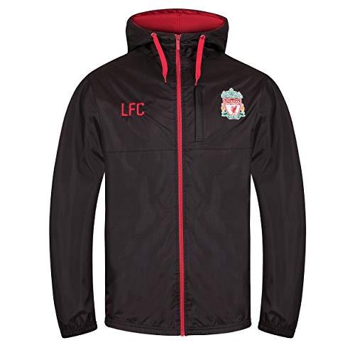 (Liverpool Football Club Official Soccer Gift Mens Shower Jacket Windbreaker Lge)