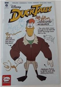 SDCC 2018 DUCKTALES #6 CVR RI Variant SIGNED Bobby Moynihan & TV Series Pros (Best Of Bobby Moynihan)