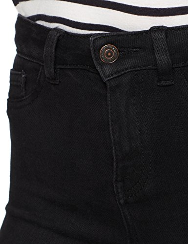 Negro New Skinny Disco Black Superskinny Vaquero para Look Mujer r706Hq7wTx