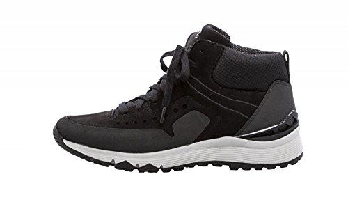 Gabor Women's Sneaker Mid 74.363.17 noir schwarz