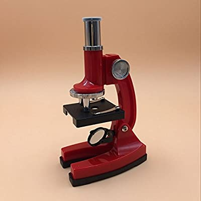 JYHJ Enseignement enfants microscope étudiant Lite microscope microscope , red