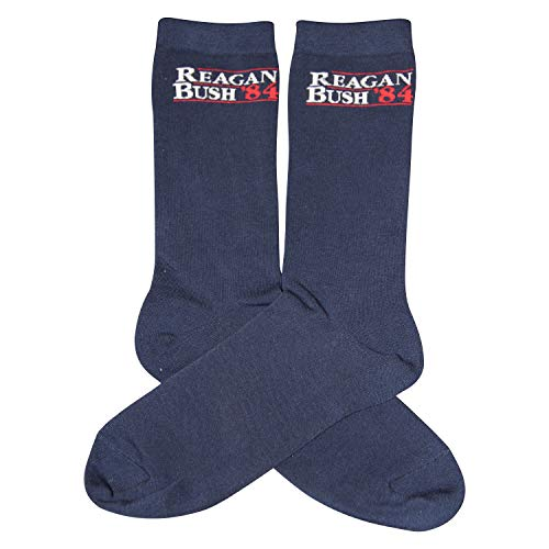 Reagan bush '84 Campaign Socks, Premium Quality Cotton and Polyester, Men and Women socks, Designed  - http://coolthings.us