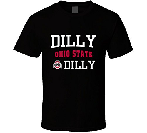 lagify Dilly Ohio State Dilly T-Shirt XL Black
