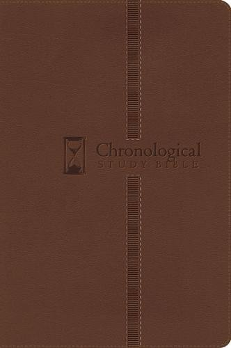Download The Chronological Study Bible: New King James Version Brown Leathersoft pdf