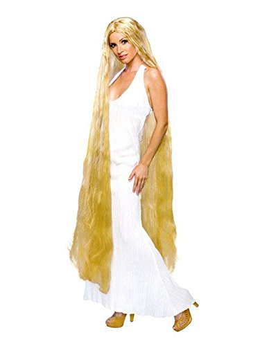 Rubie's 60-Inch Lady Godiva Blonde Wig, Yellow, One