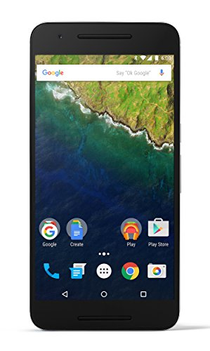 Huawei Nexus 6P 128GB Unlocked GSM Octa-Core Android Phone - Aluminum (Renewed) -  H1511 128GB ALU