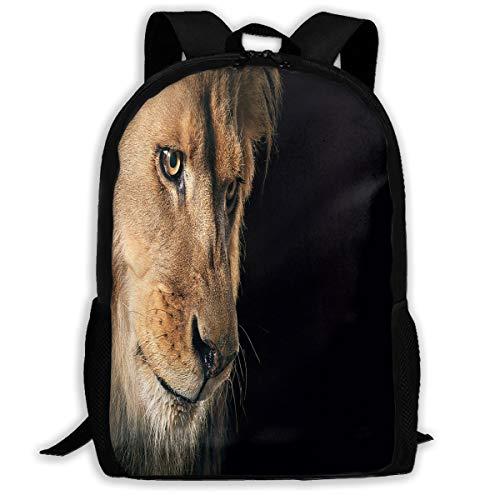 Backpack Animal Lion Womens School Backpacks Daypack Marvellous Gift