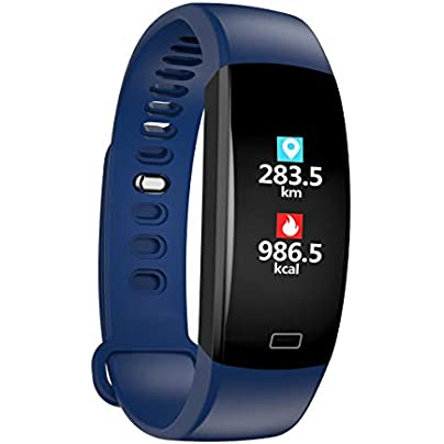 YSCYLY Fitness Trackers Bluetooth Activity Smart Wristband GPS Meters Waterproof Pedometer Heart Rate Blood Pressure Sleep Monitor Riding Mode Estimated Price £38.22 -