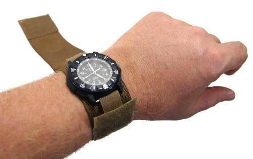 Covered Face - Raine Military Covered Watchband, Coyote