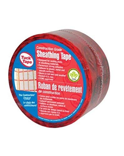 Top recommendation for sheathing tape tuck tape