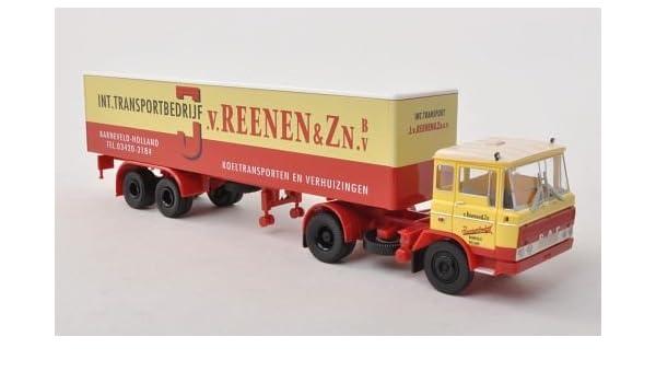 DAF ft 2600, Van Reenen (NL), Caja remolque , Modelo de Auto, modello completo, Brekina 1:87: Brekina: Amazon.es: Juguetes y juegos