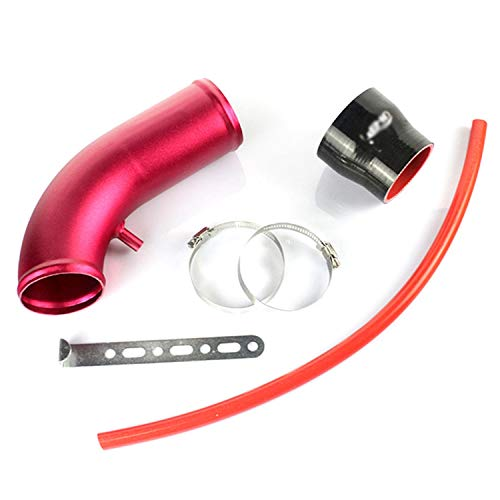 Intake Pipe Automobile motor engine intake pipe aluminum tube 3 inch 76 mm universal mushroom head modified connection pipe intake pipe fittings modified air intake aluminum tube mushroom head auto pa: Kitchen & Home