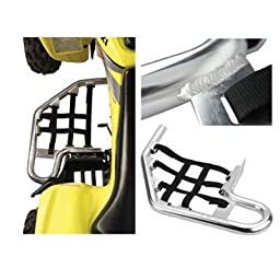 Tusk Comp Series Nerf Bars Black With Black Webbing, Honda TRX 250EX 2001-2008