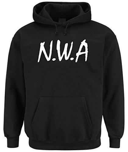 N.W.A. Hoodie Black