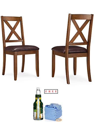 Broadway Dining Room Set - Better Homes & Gardens Maddox Crossing Dining Chair, Set of 2, Brown