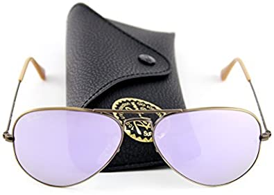 e695499baa Image Unavailable. Image not available for. Color  Ray-Ban RB3025 167 4K Sunglasses  Bronze-Copper ...