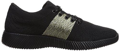 Qupid Dames Spyrock-09 Sneaker Zwart