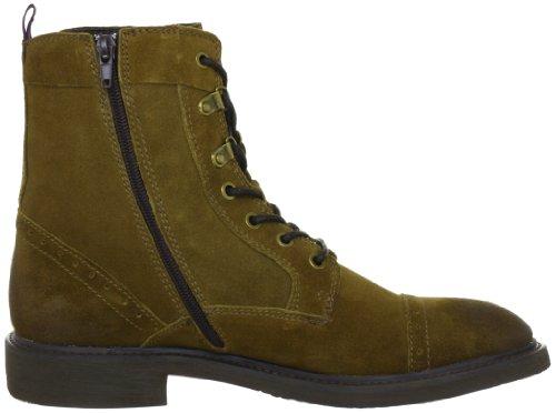 Ben Sherman Jock BN164100 - Zapatos casual de cuero para hombre Marrón