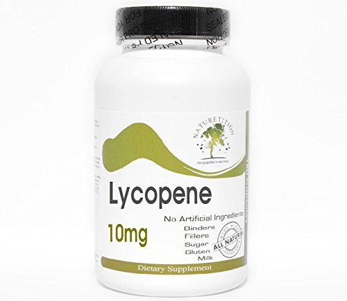 Lycopene 10mg ~ 200 Capsules - No Additives ~ Naturetition Supplements by Naturetition Supplements