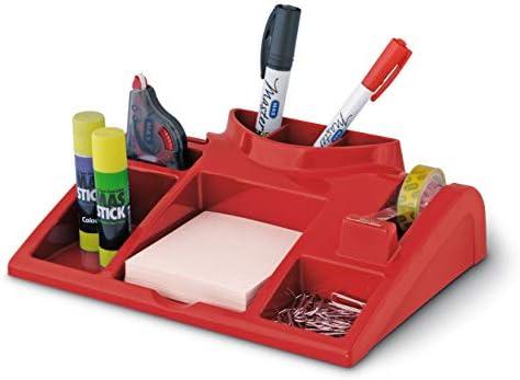 Schreibtisch-Organizer Ablagesystem Rot