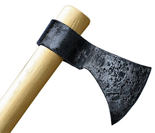 Throwing Axe - Win Your Next Viking Throwing Tomahawk Competition! 19'' Hand Forged Hatchet From High Carbon Steel, NMLRA Approved, 100% Guaranteed From Defects (Antiqued) by Thrower Supply (Image #4)