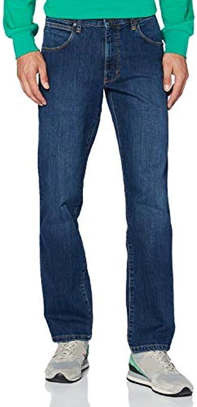 Wrangler Męskie dżinsy Arizona' Straight: Odzież