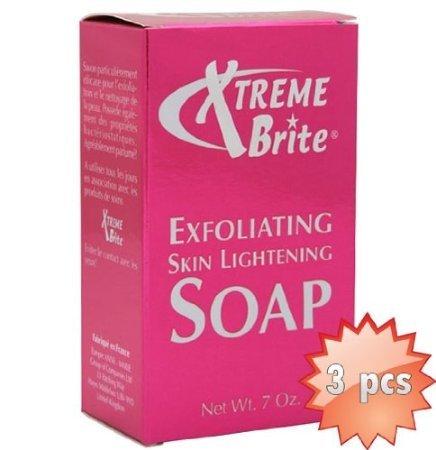Xtreme Brite Exfoliating Brightening Soap 7oz 3-Pack