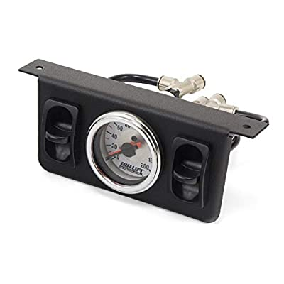 AIR LIFT 26229 200-psi Dual Needle Air Gauge: Automotive