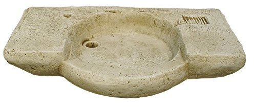 CATART Pila LAVAMANOS Rustica para Interior O Exterior EN Piedra 90X55X18cm.: Amazon.es: Jardín