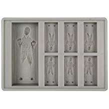 Ice cubes Han-Solo Star Wars form and baking pan