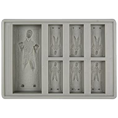 Star Wars: Han Solo in Carbonite Silicone Ice Tray / Chocolate Mold/ Single Tray