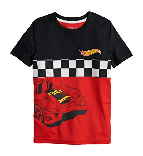 - Hot Wheels Boys Graphic Race Check Short Sleeve Shirt (5-10) (10)