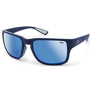 Zeal Optics Cascade Sunglasses Eyewear Navy Blue/Horizon Blue